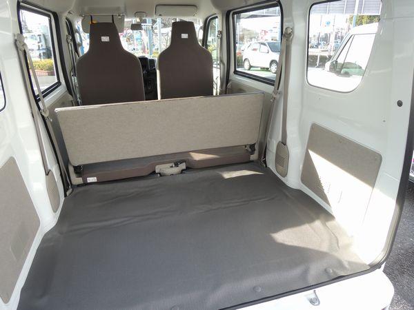 新型エブリィ(商用車)2015 荷室