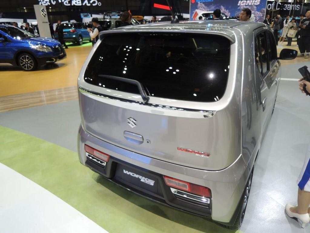 東京モーターショー2015 アルトワークス