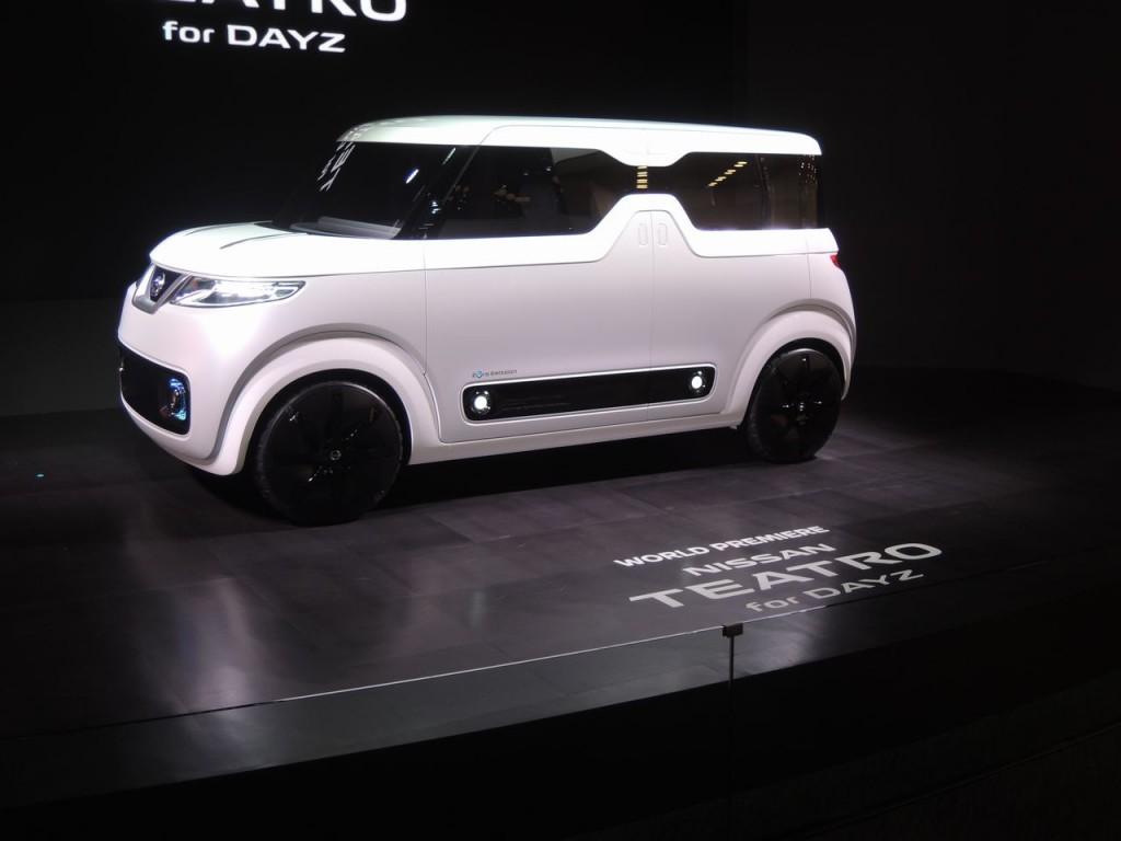 東京モーターショー2015 TEATRO for DAYZ