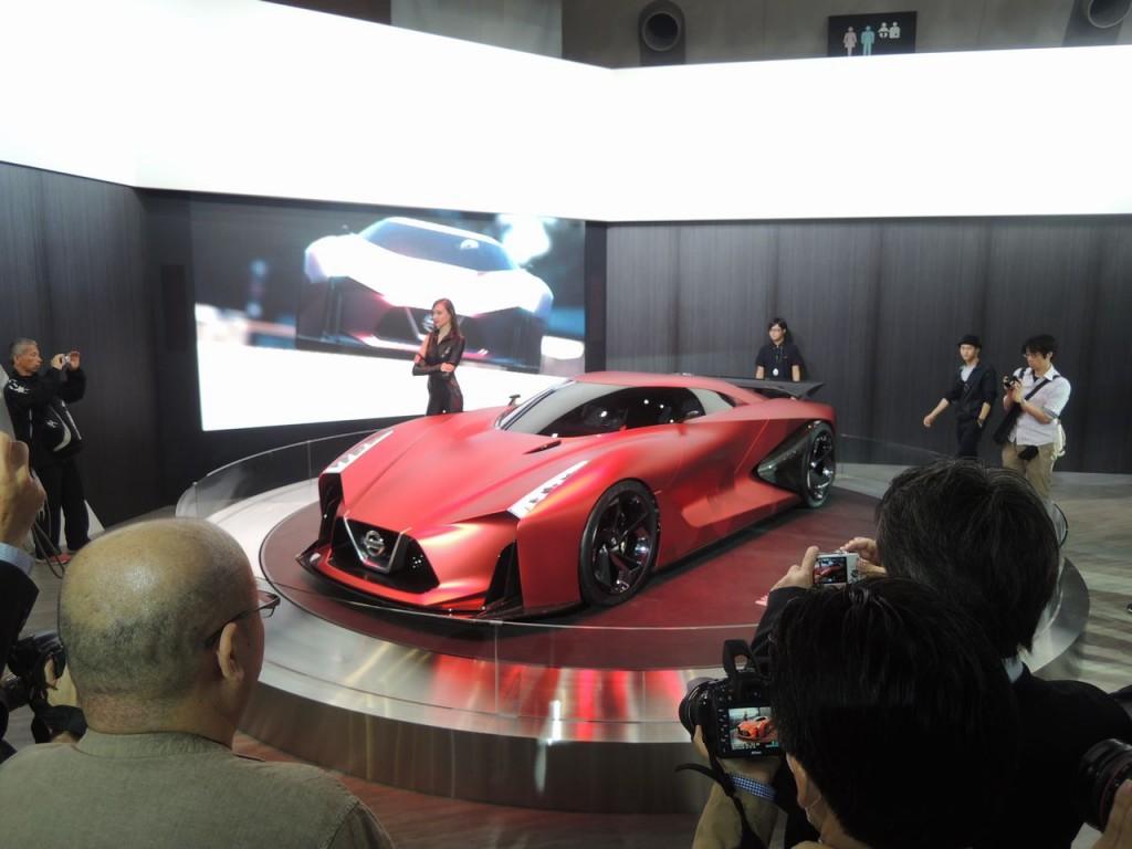 東京モーターショー2015 日産ブース
