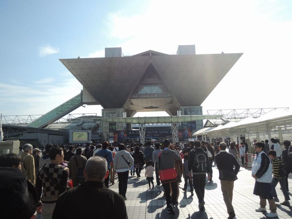 東京モーターショーの日曜日